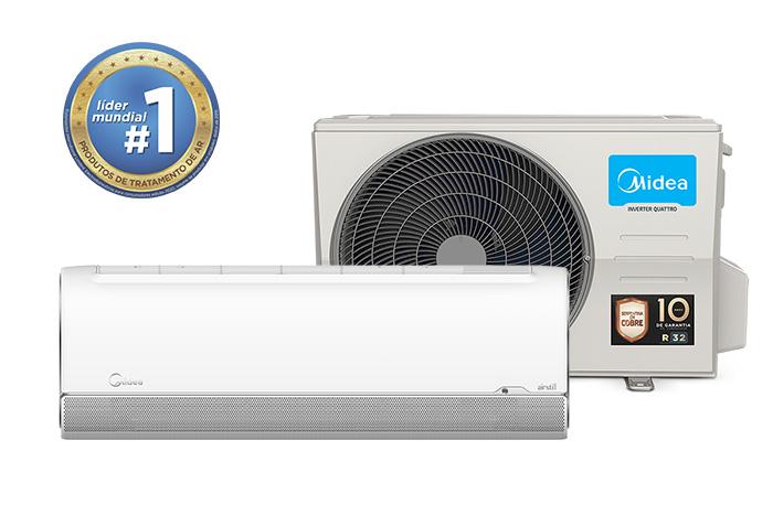 Ar-Condicionado Midea AirStill 12.000 BTU/h Quente/Frio