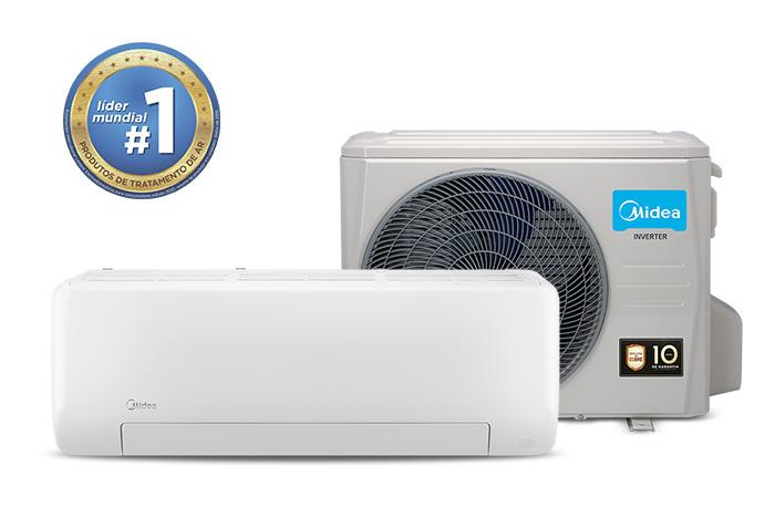 Ar-Condicionado Midea All Easy Pro 12.000 BTU/h Quente/Frio